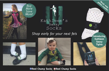 Kathleen's Sassy Socks