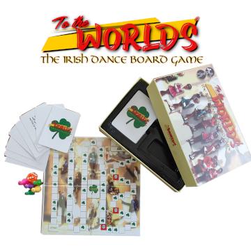 To The Worlds - The Irish Dance Board Game