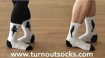 Turn Out Socks
