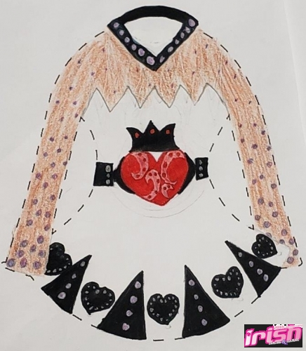 Celtic Queen of Hearts
